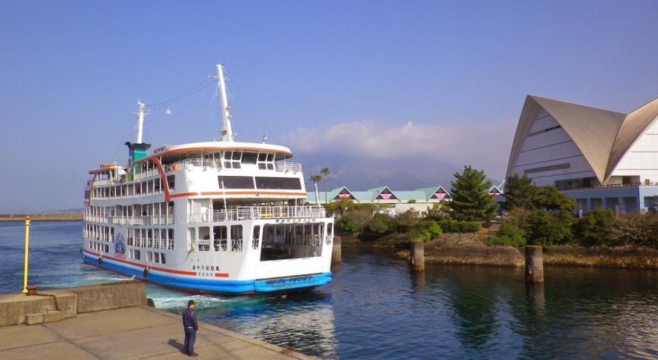 鹿児島市から桜島・大隅までの定番、桜島フェリーについて
