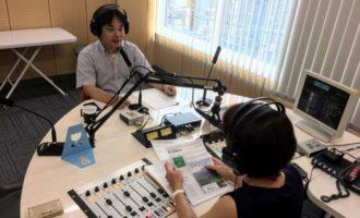 ラジオ初出演!鹿児島で山歩きを始めたい人に向けて話したこと