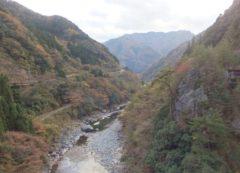 子守唄で有名な五木村は人吉からも意外と近い。