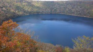 紅葉を楽しみに えびの高原~大浪池一周ルート